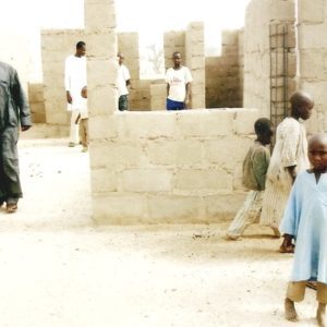Hospital under construction n Katsina by WMRAP