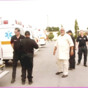 Late Roger with paramedics Instructors in Adamawa State
