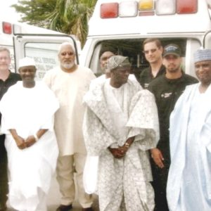 Late Roger with Adamawa State Government